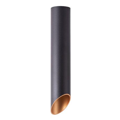 Потолочный светильник Arte Lamp Instyle Pilon-Silver A1536PL-1BK, 1xGU10x35W, черный, металл