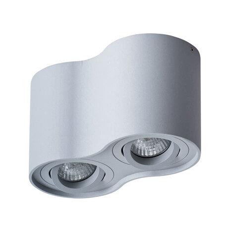 Потолочный светильник Arte Lamp Instyle Falcon A5645PL-2GY, 2xGU10x50W, серый, металл