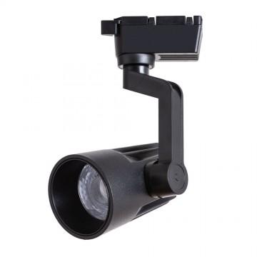 Светодиодный светильник для шинной системы Arte Lamp Instyle Wales A1613PL-1BK, LED 13W, 4000K (дневной), черный, металл