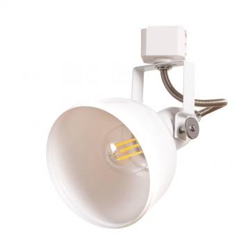 Светильник для шинной системы Arte Lamp Instyle Martin A5213PL-1WH, 1xE14x40W, белый, металл
