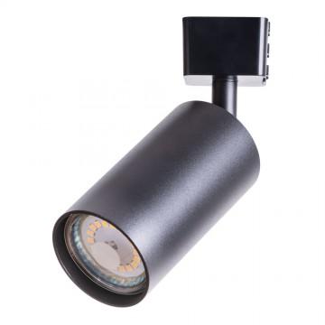 Светильник для шинной системы Arte Lamp Instyle Ridge A1518PL-1BK, 1xGU10x35W, черный, металл