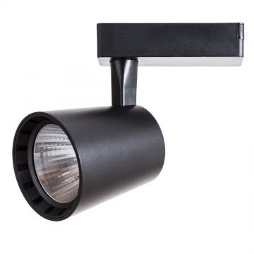 Светодиодный светильник для шинной системы Arte Lamp Instyle Atillo A2324PL-1BK, LED 24W 4000K 2200lm CRI≥80, черный, металл