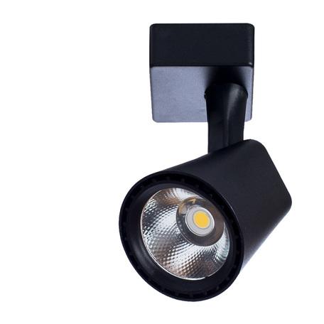 Светодиодный светильник Arte Lamp Instyle Amico A1811PL-1BK, LED 10W 3000K 800lm CRI≥80, черный, металл