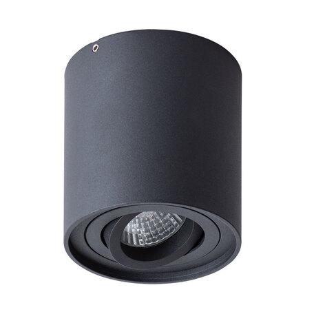 Потолочный светильник Arte Lamp Instyle Falcon A5645PL-1BK, 1xGU10x50W, черный, металл