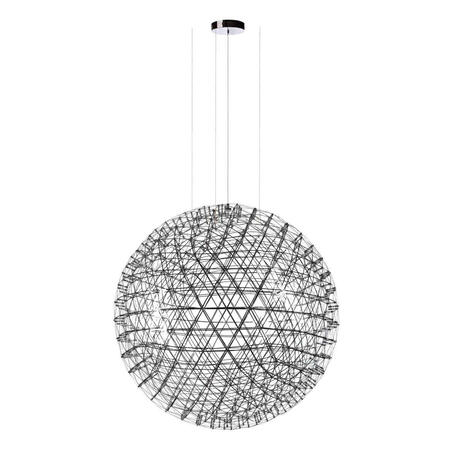 Подвесная светодиодная люстра Loft It Moooi Raimond 9027-127, LED 147W 3000K, хром, металл