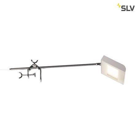 Мебельный светодиодный светильник SLV DALO DISPLAY 1001857, LED 4000K, сталь, серый, металл