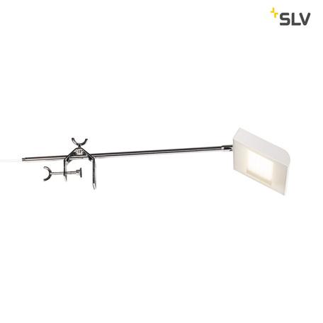 Мебельный светодиодный светильник SLV DALO DISPLAY 1001858, LED 4000K, алюминий, белый, металл