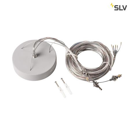 Крепление для подвесного монтажа светильника SLV MEDO 30/60/90 LED 1001951, серый, металл