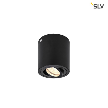 Потолочный светильник SLV TRILEDO ROUND GU10 CL 1002010, 1xGU10x50W, черный, металл