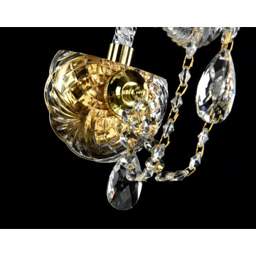 Бра Maytoni Beatrix DIA019-01-G, 1xE14x60W, золото, прозрачный, стекло - миниатюра 5