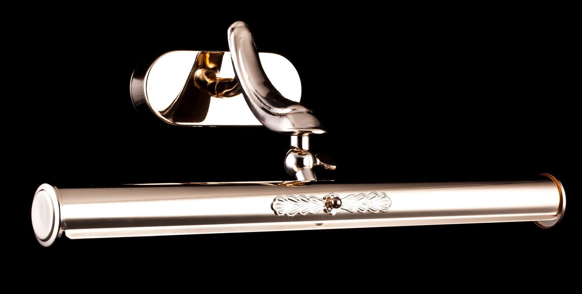 Настенный светильник для подсветки картин Maytoni Classic Picture Raphael PIC113-02-G, 2xE14x25W, золото, металл - фото 2