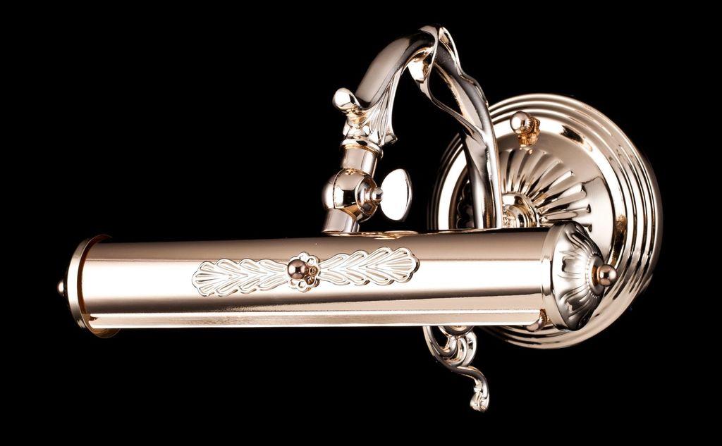 Настенный светильник для подсветки картин Maytoni Picasso PIC114-01-G, 1xE14x25W, золото, металл - фото 3