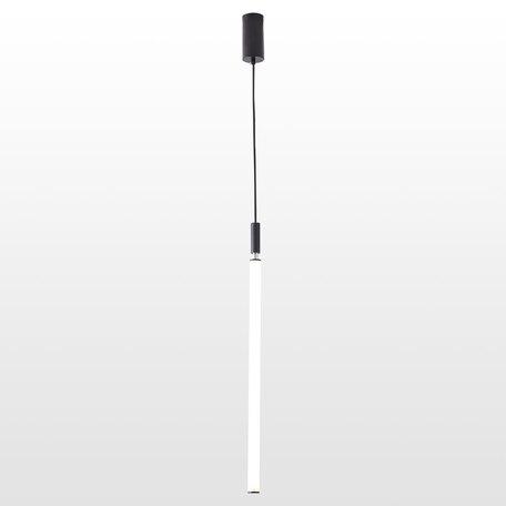 Светодиодный светильник Lussole Loft Pickens LSP-8393, IP21, LED 36W 3000K, черный, белый, металл, пластик
