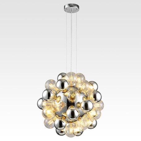 Светильник Lussole Topgrade Haines LSP-8406, IP21, 36xE27x8W, хром, металл