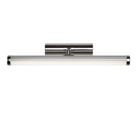 Настенный светодиодный светильник Lucide Belpa-LED 39210/07/11, IP44, LED 11W 4000K 700lm CRI80, хром, металл, пластик