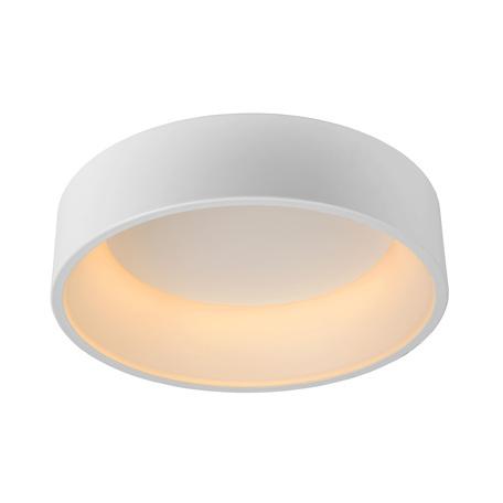 Потолочный светодиодный светильник Lucide Talowe-LED 46100/32/31, LED 30W, 3000K (теплый), белый, металл, пластик
