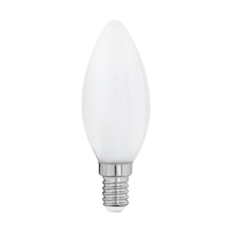 Филаментная светодиодная лампа Eglo 11602 свеча E14 4W, 2700K (теплый) CRI>80, гарантия 5 лет