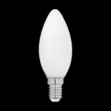 Филаментная светодиодная лампа Eglo 11602 свеча E14 4W, 2700K (теплый), гарантия 5 лет