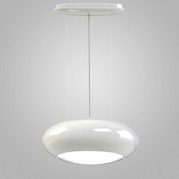 Подвесной светильник Eglo Carsico 92791, 2xE27x60W, белый, металл, металл со стеклом - фото 1