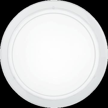 Потолочный светильник Eglo Planet 1 83153, 1xE27x60W, белый, матовый, металл, стекло