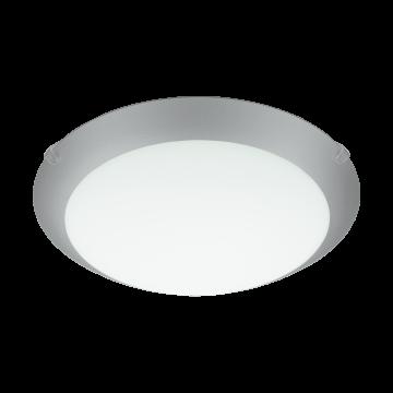 Потолочный светильник Eglo Mars 1 89248, 1xE27x60W, серебро, белый, металл, стекло