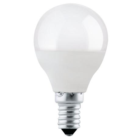 Светодиодная лампа Eglo 11419 шар малый E14 4W, 3000K (теплый) CRI>80, гарантия 5 лет
