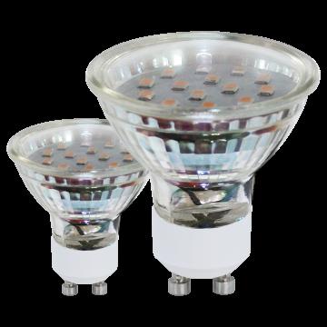 Светодиодная лампа Eglo 11427 MR16 GU10 3W, 3000K (теплый) CRI>80, гарантия 5 лет