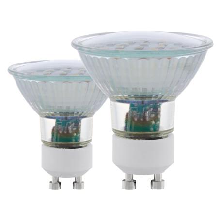 Светодиодная лампа Eglo 11537 MR16 GU10 5W, 3000K (теплый) CRI>80, гарантия 5 лет