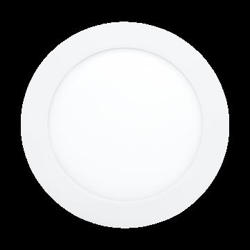 Встраиваемая светодиодная панель Eglo Fueva 1 96245, IP44, LED 10,9W 4000K 1350lm, хром, металл с пластиком, пластик