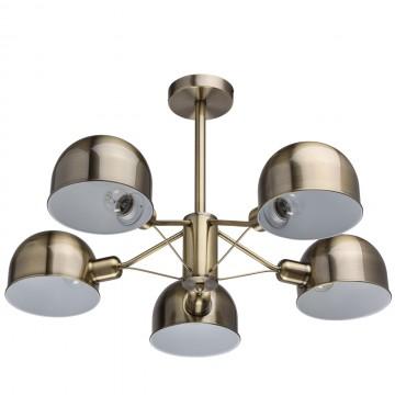 Потолочная люстра MW-Light Таун 691010305, 5xE27x40W, бронза, металл