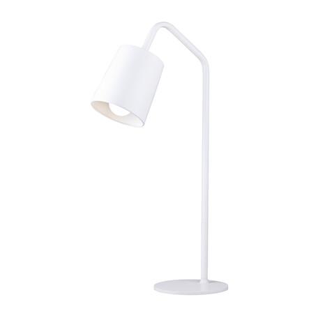 Настольная лампа Arti Lampadari Ultimo E 4.1.1 W, 1xE27x60W, белый, металл