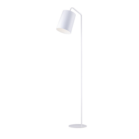 Торшер Arti Lampadari Ultimo E 3.1.1 W, 1xE27x60W, белый, металл