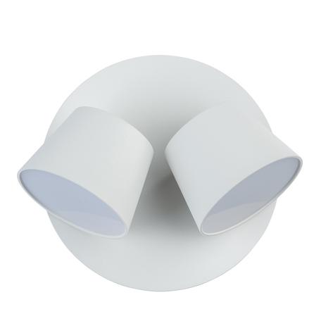 Светодиодное бра De Markt Хартвиг 717020802, LED 10W 3000K (теплый), белый, матовый, металл, пластик