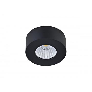 Потолочный светодиодный светильник Donolux Mono DL18812/7W Black R, IP44, LED 7W, 3000K (теплый)
