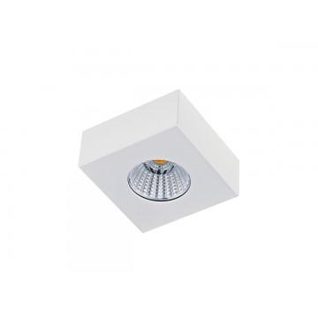 Потолочный светодиодный светильник Donolux Mono DL18812/7W White SQ, IP44, LED 7W, 3000K (теплый)