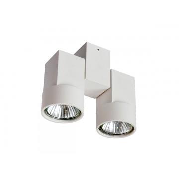 Потолочный светильник с регулировкой направления света Donolux DL18435/12WW-White, 2xGU10x50W