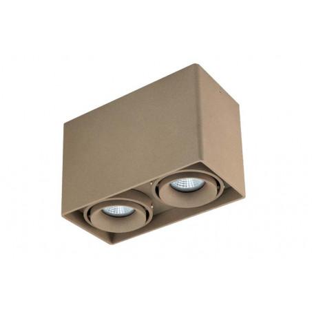 Потолочный светильник Donolux Lumme DL18611/02WW-SQ Champagne, 2xGU10x50W