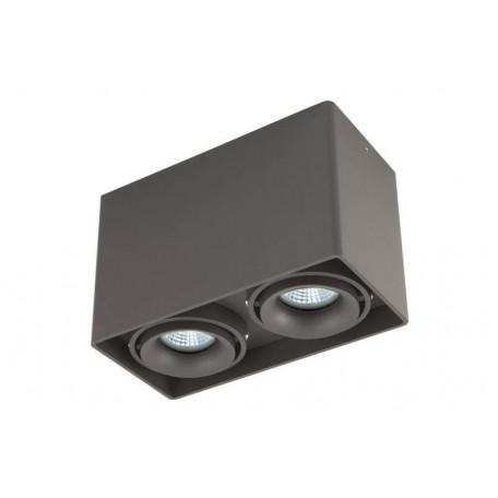 Потолочный светильник Donolux Lumme DL18611/02WW-SQ Shiny black, 2xGU10x50W