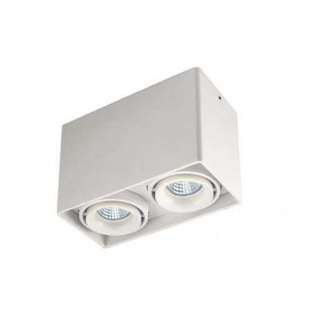 Потолочный светильник Donolux Lumme DL18611/02WW-SQ White, 2xGU10x50W, белый