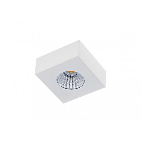 Потолочный светодиодный светильник Donolux Mono DL18812/7W White SQ, IP44, LED 7W 3000K 420lm