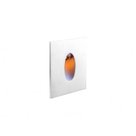 Встраиваемый настенный светодиодный светильник Donolux Steps DL18373/11WW-White, LED 1W 3000K 52lm