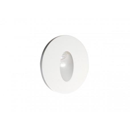 Встраиваемый настенный светодиодный светильник Donolux Steps DL18374/11WW-White, LED 1W 3000K 52lm