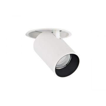Встраиваемый светодиодный светильник с регулировкой направления света Donolux DL18621/01R White Dim, LED 9,2W, 3000K (теплый)