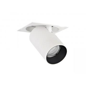 Встраиваемый светодиодный светильник с регулировкой направления света Donolux DL18621/01SQ White Dim, LED 9,2W, 3000K (теплый)