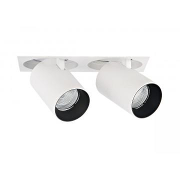 Встраиваемый светодиодный светильник с регулировкой направления света Donolux DL18621/02SQ White Dim