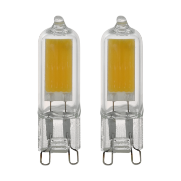 Филаментная светодиодная лампа Eglo 11676 капсульная G9 3W, 3000K (теплый), гарантия 5 лет