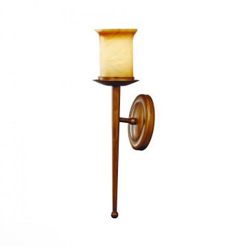 Бра ST Luce Ancora SL122.311.01, 1xE27x60W, коричневый, янтарь, металл, стекло