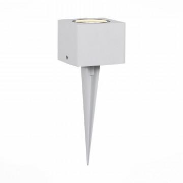 Садово-парковый светодиодный светильник ST Luce Pedana SL097.505.01, IP65, LED 8W 3000K, белый, металл