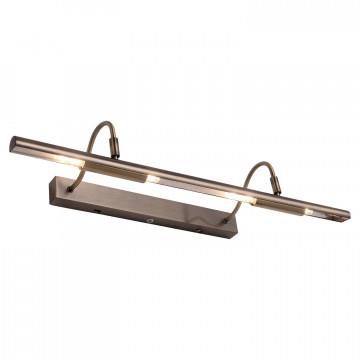 Настенный светильник для подсветки картин Lussole Loft Lido III LSP-9964, IP21, 4xG9x40W, бронза, металл