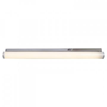 Настенный светодиодный светильник Lussole Aqua LSP-9967, IP44, LED 12W 4100K, хром, белый, металл, пластик